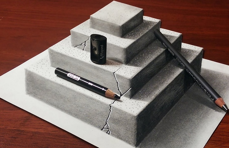 Teach your kids how to draw in 3d